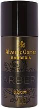 Profumi e cosmetici Alvarez Gomez Agua De Colonia Concentrada Barberia - Deodorante spray