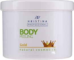 "Profumi e cosmetici Scrub corpo ""Gold"" - Hristina Professional Gold Body Peeling"