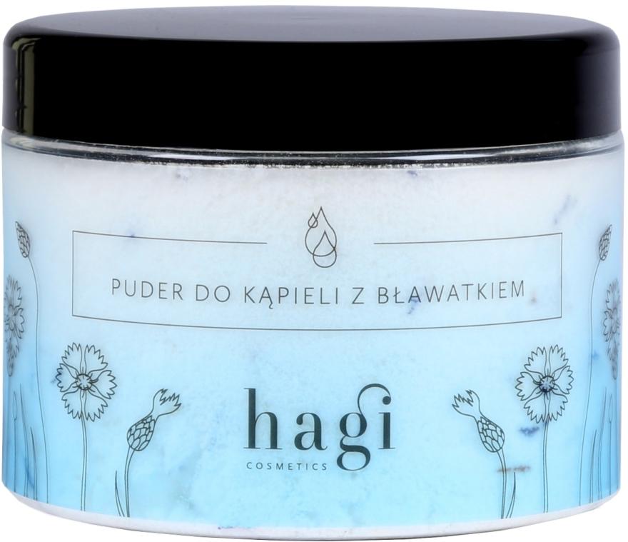 Polvere da bagno con fiordaliso - Hagi Bath Puder — foto N1