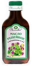 Profumi e cosmetici Olio di bardana con vitamine A ed E - Mirrolla