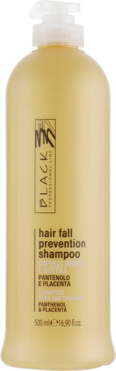 Shampoo anticaduta pantenolo e placenta - Black Professional Line Panthenol & Placenta Shampoo — foto N1