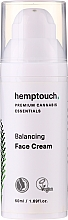 Profumi e cosmetici Crema viso lenitiva e idratante - Hemptouch Balancing Face Cream