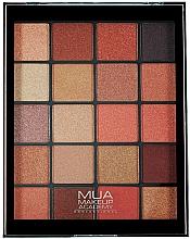 Profumi e cosmetici Palette ombretti - MUA 20 Shade Eyeshadow Palette