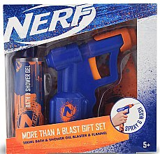 Profumi e cosmetici Set - EP Line Nerf Blaster Set (sh/gel/200ml + toy)