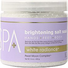 Profumi e cosmetici Sale marino - BCL Spa White Radiance Brightening Salt Soak