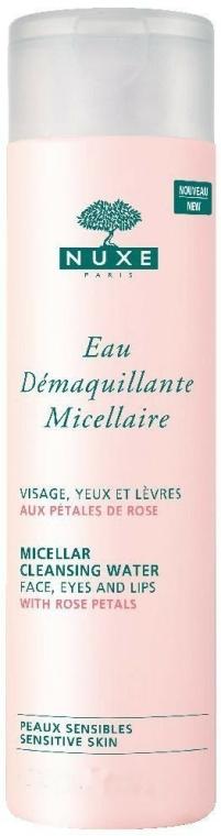 Acqua detergente micellare con petali di rosa - Nuxe Micellar Cleansing Water With Rose Petals