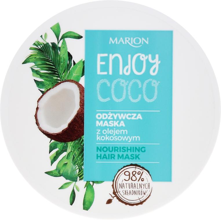 Maschera capelli nutriente all'olio di cocco - Marion Enjoy Coco Nourishing Hair Mask
