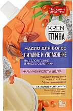 """Profumi e cosmetici Maschera per capelli """"Nutrizione e idratazione"""" - Fito Cosmetica Ricette popolari"""