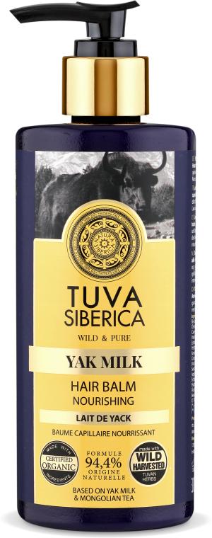 Balsamo capelli nutriente - Natura Siberica Tuva Siberica Yak Milk Nourishing Bio-Conditioner