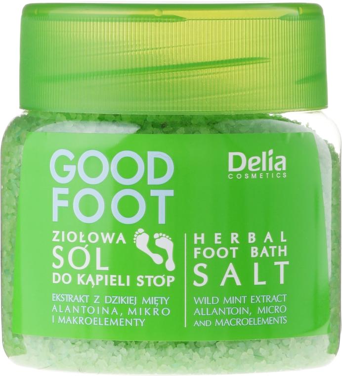 Sale per i piedi - Delia Cosmetics Good Foot Herbal Foot Bath Salt