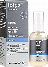 Profumi e cosmetici Gel viso idratante - Tolpa Dermo Men Hydro Intensive Moisturising Gel