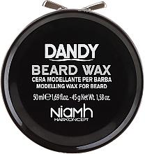 Profumi e cosmetici Cera modellante per barba e baffi - Niamh Hairconcept Dandy Beard Wax Modelling