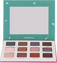 Profumi e cosmetici Palette ombretti - Moira Happy Go, Fly, Travel Shadow Palette