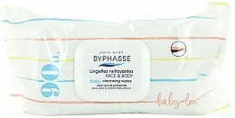 Profumi e cosmetici Salviette umidificate per bambini, 90 pz. - Byphasse Baby Cleansing Wipes Face and Body