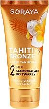 Profumi e cosmetici Autoabbronzante per viso e collo - Soraya Tahiti Bronze 2 Step