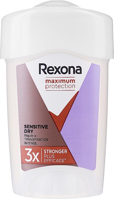 Deodorante stick - Rexona Maximum Protection Sensitive Dry