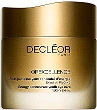 Profumi e cosmetici Crema ringiovanente contorno occhi - Decleor Orexcellence Energy Concentrate Youth Eye Care