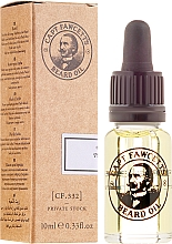 Profumi e cosmetici Olio da barba - Captain Fawcett Beard Oil