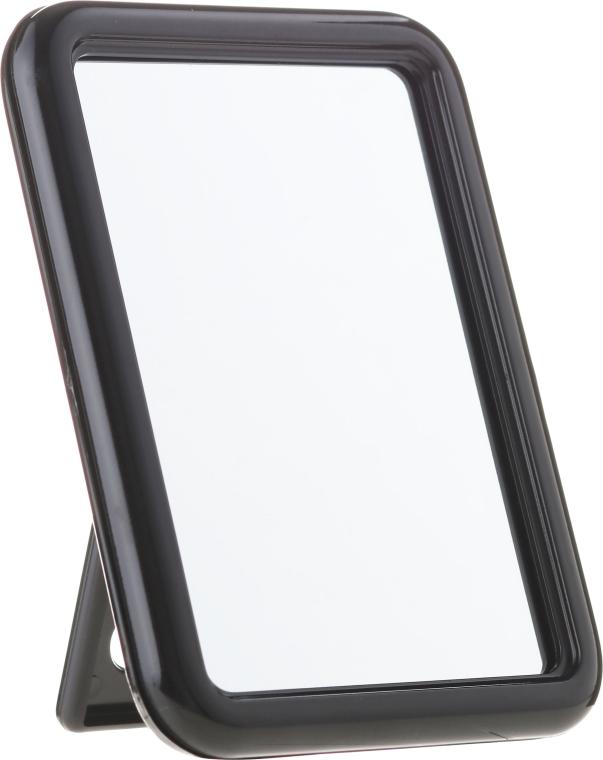 """Specchio quadrato """"Mirra-Flex"""", 10x13 cm, nero - Donegal One Side Mirror — foto N1"""