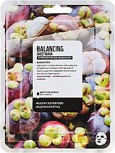 "Profumi e cosmetici Maschera in tessuto equilibrante ""Mangostano"" - Superfood For Skin Balancing Sheet Mask"