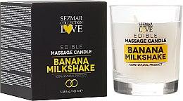 """Profumi e cosmetici Candela naturale da massaggio """"Banana"""" - Sezmar Collection"""