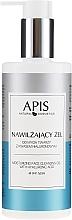 Profumi e cosmetici Gel detergente viso idratante con acido ialuronico - APIS Professional Moisturising Cleansing Gel
