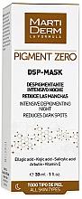 Profumi e cosmetici Maschera viso depigmentante - MartiDerm Pigment Zero DSP-Mask Intensive Depigmenting Night