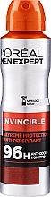 Profumi e cosmetici Deodorante antitraspirante - L'Oreal Paris Men Expert Invincible 96 Hours Deodorant Spray