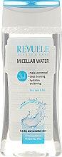 Profumi e cosmetici Acqua micellare - Revuele Micellar Water 3in1 For Dry and Sensitive Skin