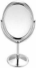 Profumi e cosmetici Specchio cosmetico per trucco 6499, ovale, in metallo - Deni Carte