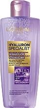 Profumi e cosmetici Acqua micellare idratante - L'Oreal Paris Hyaluron Expert
