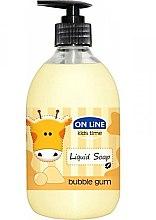 Profumi e cosmetici Sapone liquido - On Line Kids Time Liquid Soap Bubble Gum