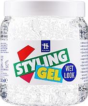 "Profumi e cosmetici Gel per l'acconciatura ""Effetto bagnato"" - Hegron Styling Gel Wet Look"