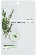 Profumi e cosmetici Maschera viso in tessuto al tea tree - Eunyul Daily Care Mask Sheet Tea Tree