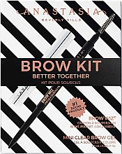 Profumi e cosmetici Set - Anastasia Beverly Hills Better Together Brow Kit Soft Brown (pencil/0.08g + gel/2.5g)