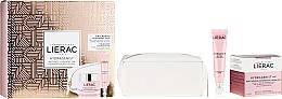 Profumi e cosmetici Set - Lierac Hydragenist (gel/cr/50ml + eye/gel/15ml + cosmetics/bag/1)