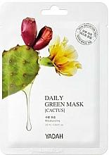 "Profumi e cosmetici Maschera per uso quotidiano ""Cactus"" - Yadah Daily Green Mask Cactus"
