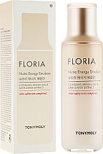 Profumi e cosmetici Emulsione viso - Tony Moly Floria Nutra-Energy Emulsion