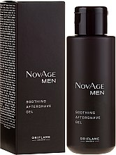 Profumi e cosmetici Gel lenitivo post rasatura - Oriflame NovAge Men Soothing Aftershave Gel