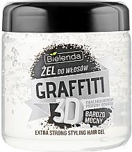 Profumi e cosmetici Gel styling capelli - Bielenda GRAFFITI 3D Extra Strong Stayling Hair Gel