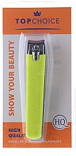 Tagliaunghie 76954, L, giallo - Top Choice Colours Nail Clippers — foto N1