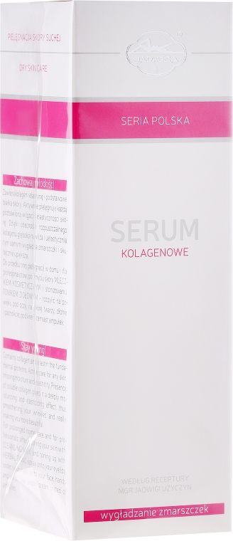 Siero al collagene antirughe - Jadwiga Collagen Serum