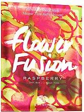 Profumi e cosmetici Maschera viso rinfrescante al lampone - Origins Flower Fusion Raspberry Refreshing Sheet Mask