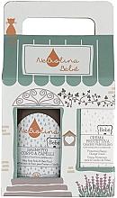 Profumi e cosmetici Set - NeBiolina Baby Gift Set II (body/hair/fluid/500ml+cr/100ml)