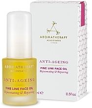 Profumi e cosmetici Olio antirughe antietà - Aromatherapy Associates Anti-Ageing Fine Line Face Oil