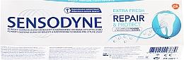 """Profumi e cosmetici Dentifricio """"Recupero e protezione"""" - Sensodyne Repair&Protect Extra Fresh"""