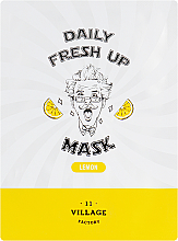 Profumi e cosmetici Maschera in tessuto all'estratto di limone - Village 11 Factory Daily Fresh Up Mask Lemon
