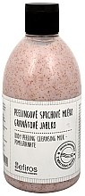 Profumi e cosmetici Latte detergente - Sefiros Body Peeling Cleansing Milk Pomegranate