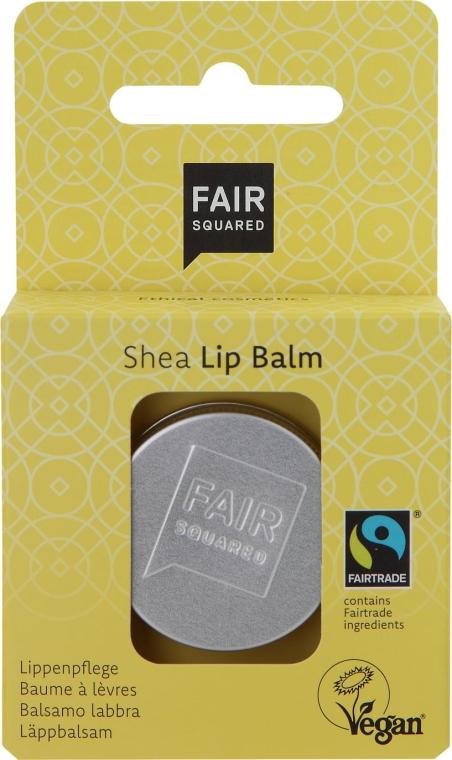 "Balsamo labbra ""Vanilla"" - Fair Squared Lip Balm Shea — foto N1"