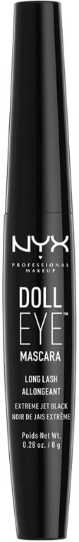 Extension Mascara - NYX Professional Makeup Doll Eye Mascara Long Lash — foto N1